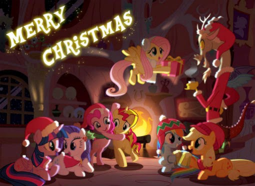 Happy Merry Christmas 2014 everypony