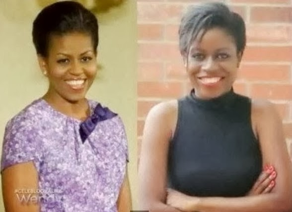 nigerian michelle obama look alike
