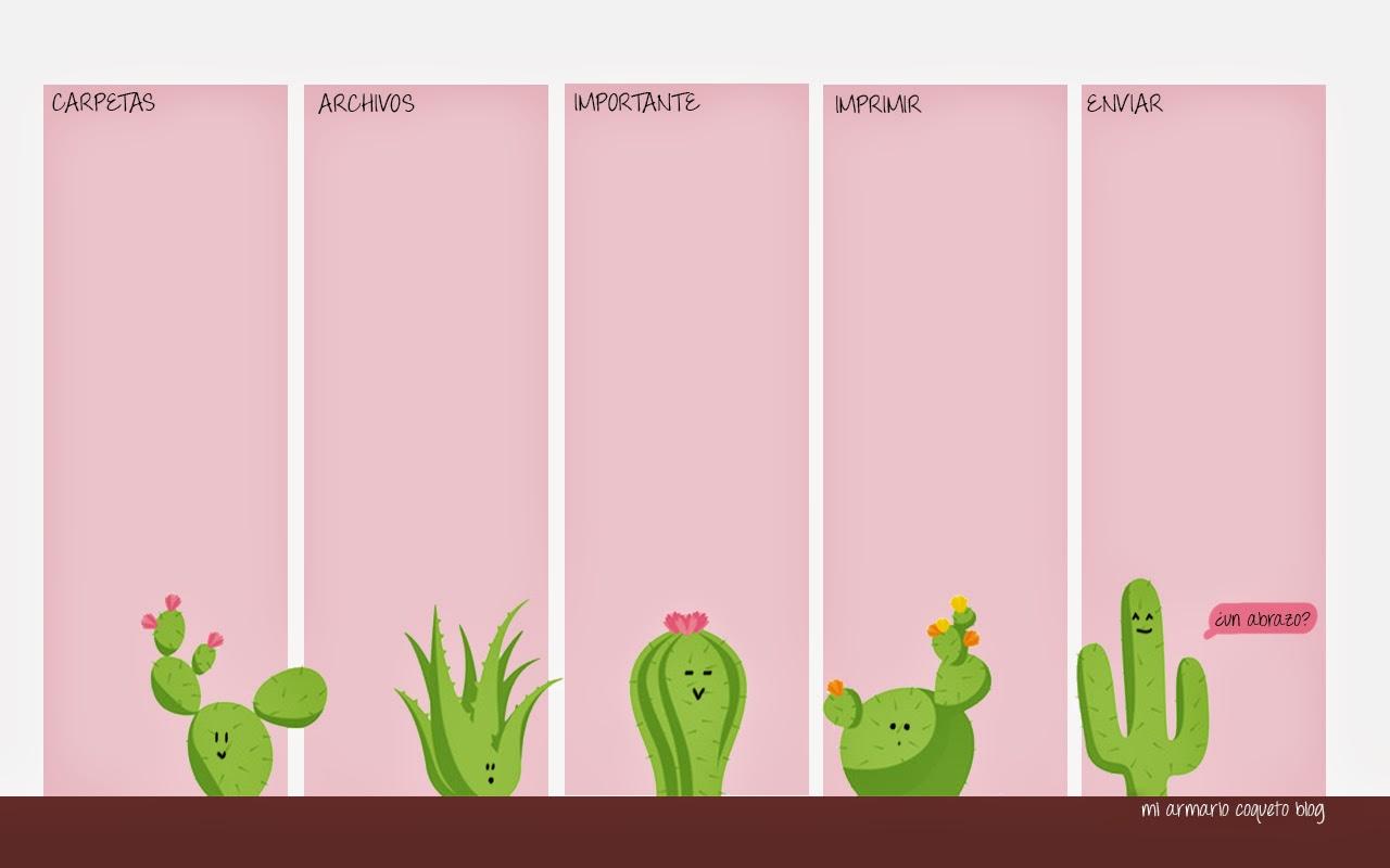Mi armario coqueto fondo de pantalla cactus for Fondo de pantalla wonderful