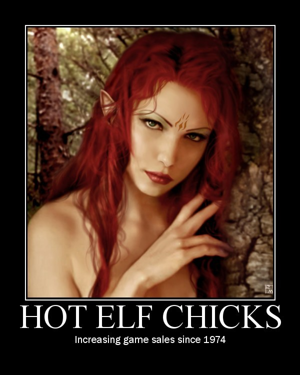 hot elf girls