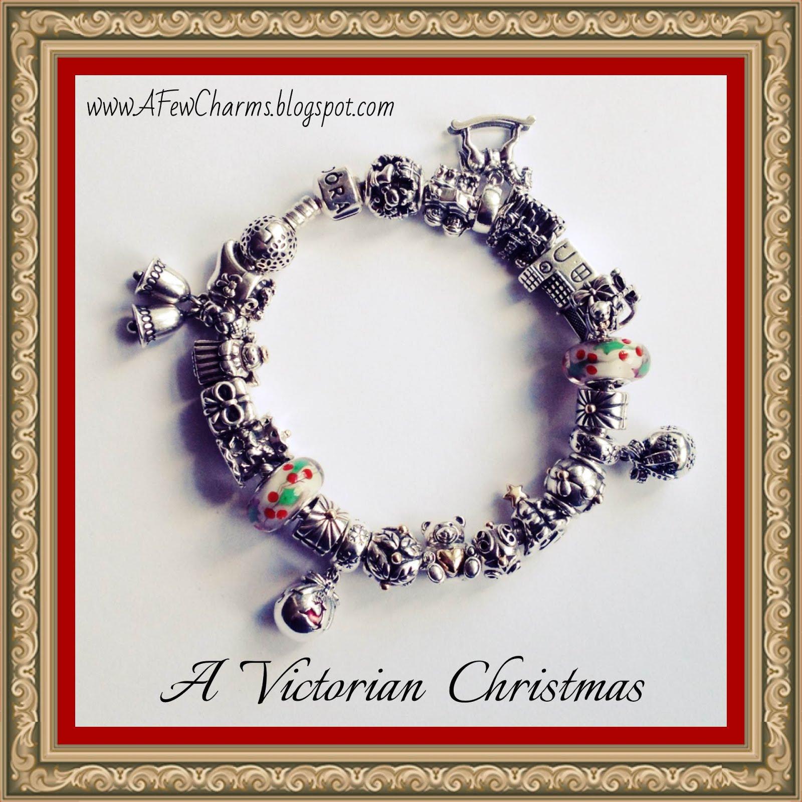 A Victorian Christmas bracelet