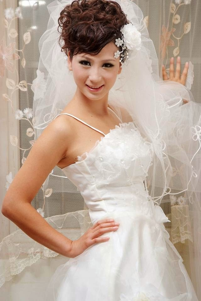 Beautiful Bridal Hairstyle Combinations - Wedding Hairstyle