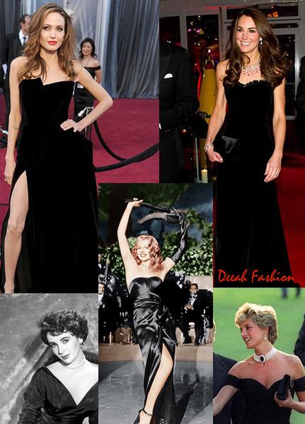 Gaun Hitam Fenomenal dari Masa ke Masa