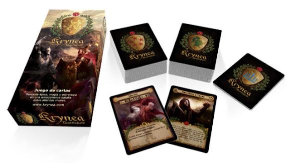 Caja del juego y cartas