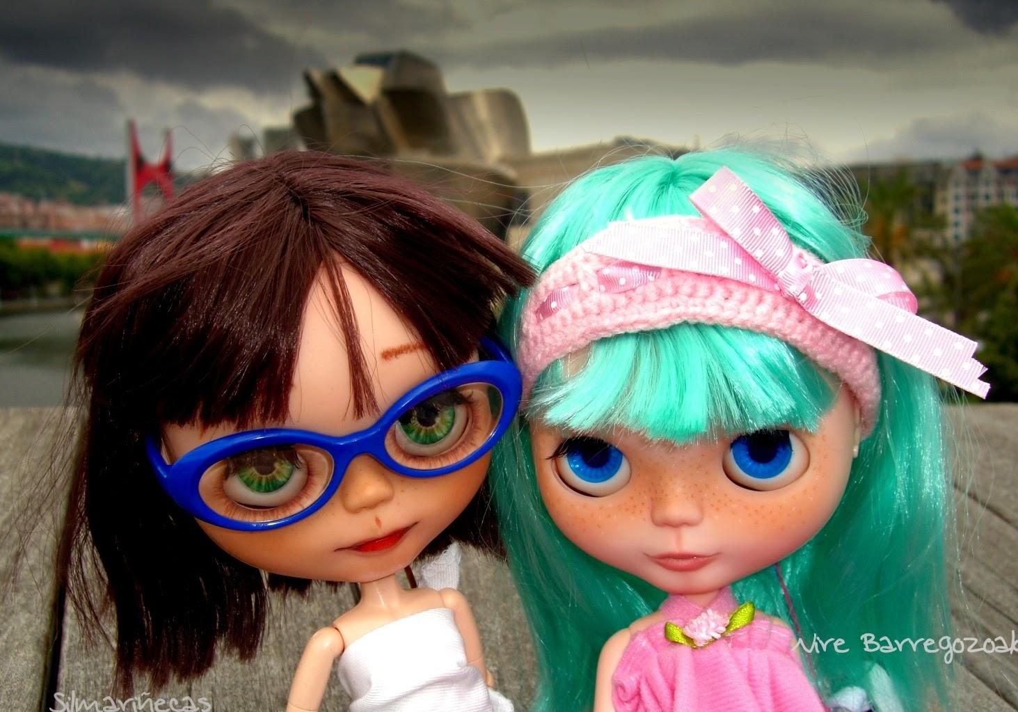 Basaak dolls y Guggenheim Bilbao