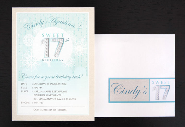 Sopha Co Sweet 17 Invitation