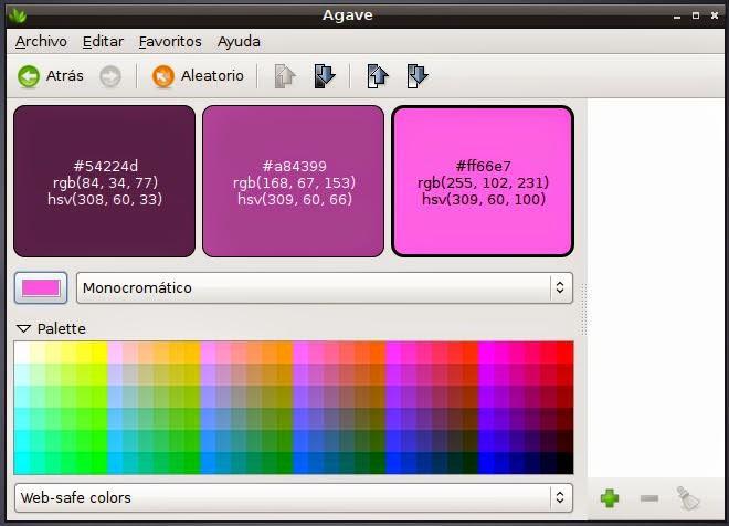 Un bruto con debian como combinar bien los colores for Programa para combinar colores