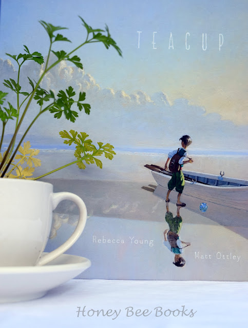 Picture book review of Teacup by Rebecca Young and Matt Ottley