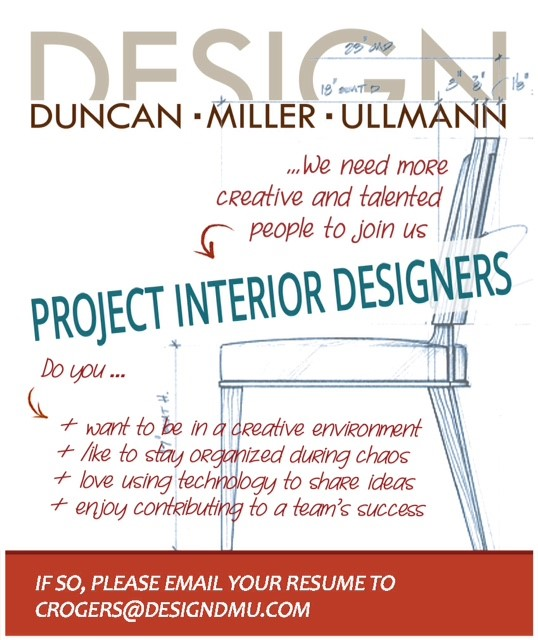 Interior Design Blog Job Openings at DesignDMU Dallas