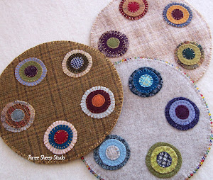 Wool Penny Rug Kit...
