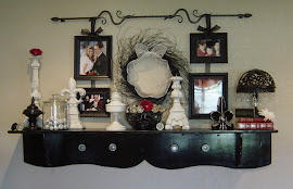Black Distressed Shelf (SOLD)