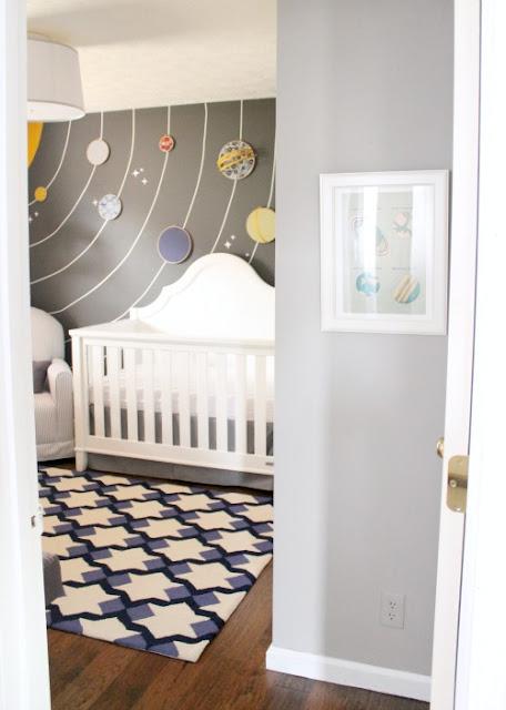 solar system nursery theme - photo #3
