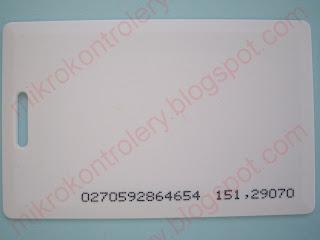 Karta RFID.