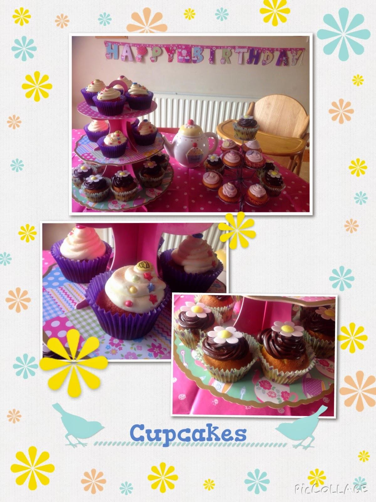 cupcakes, bettycroker, tea party, homestoreandmore, tesco, asda, decobake