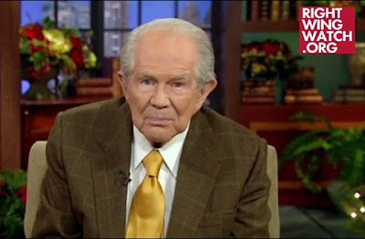 Pat Robertson hates gays funny