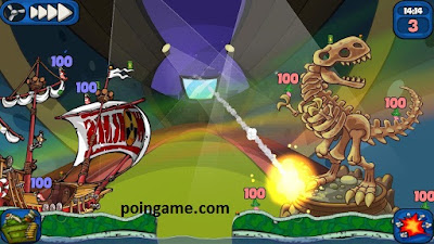 Download Game Worms 2: Armageddon for Android full
