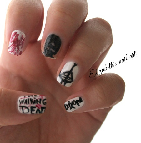 diseño nail art dixon