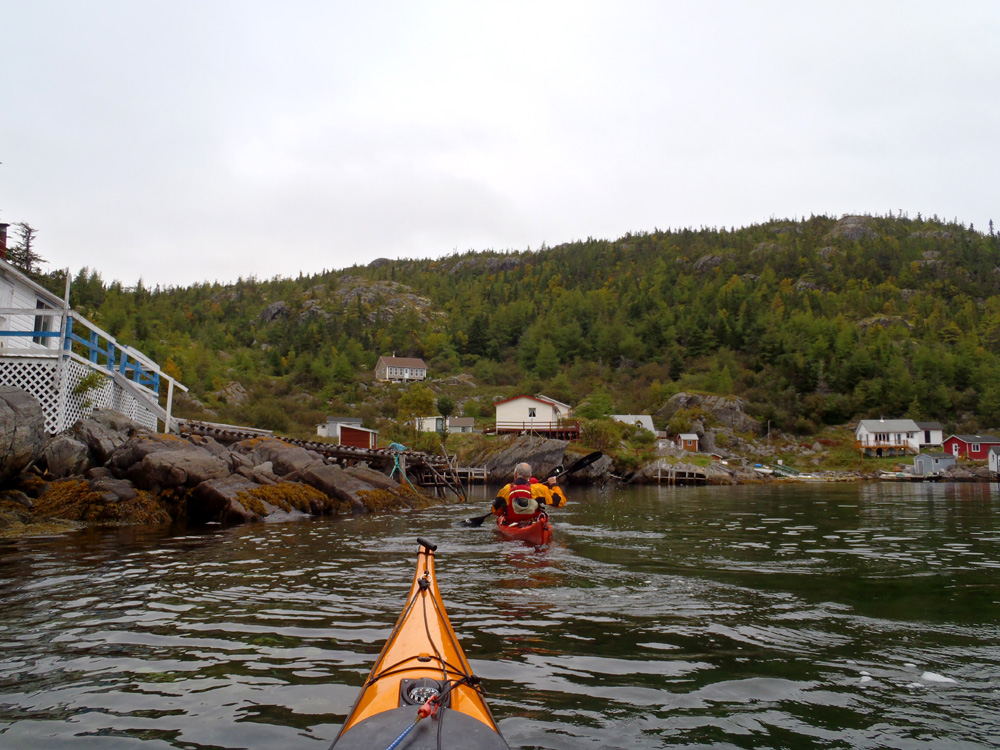 My newfoundland kayak experience off to deer harbour for Trinity bay fishing
