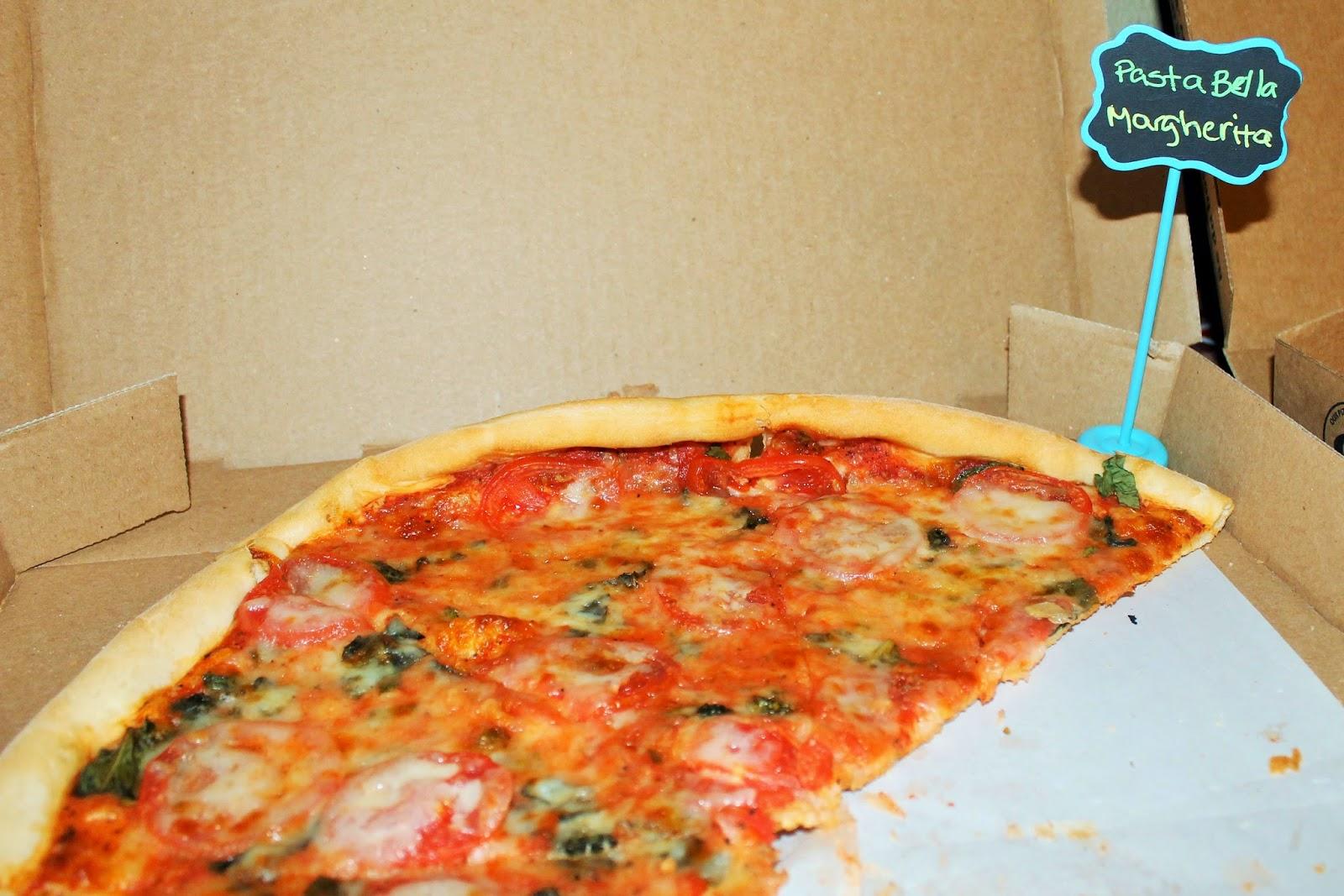 Pasta Bella Margherita Pizza, Mason City #PizzaTasteOff2015