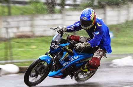 modifikasi balap Suzuki Satria FU150