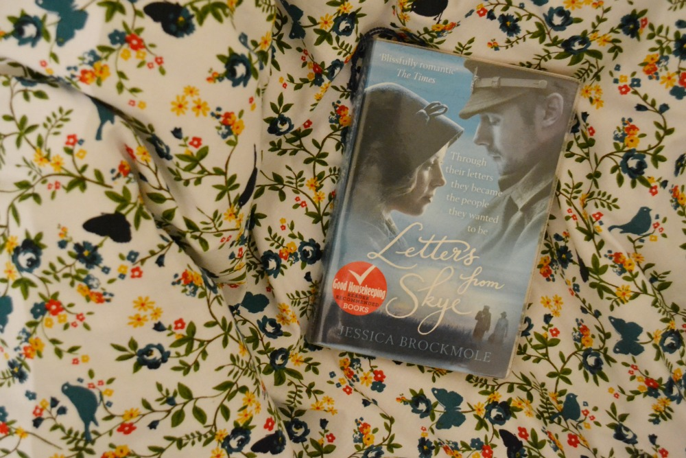 letters from skye paperback library book bedcover floral butterfly BHS