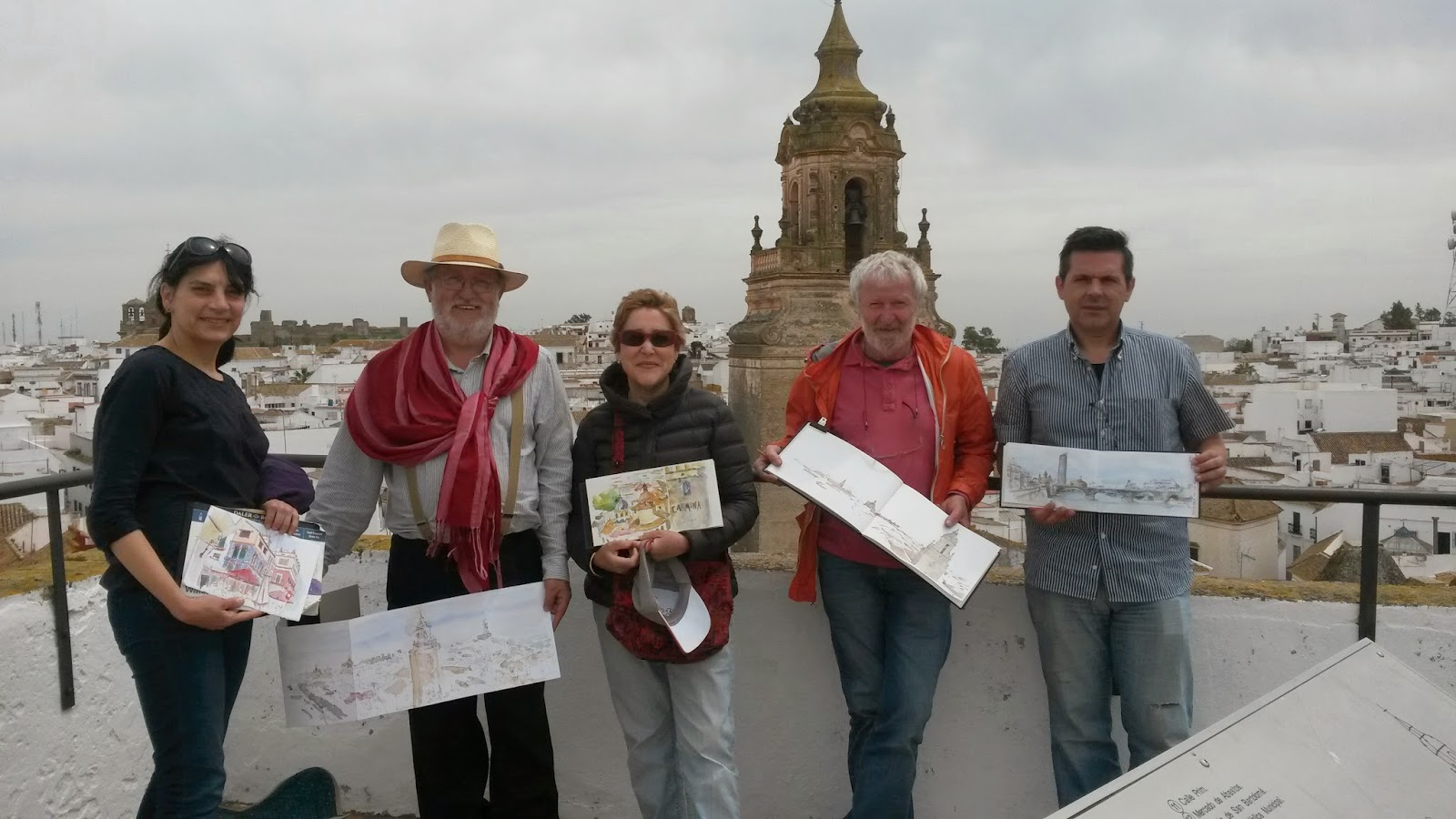 Oficina de turismo de carmona el prestigioso dibujante for Oficina de turismo sevilla