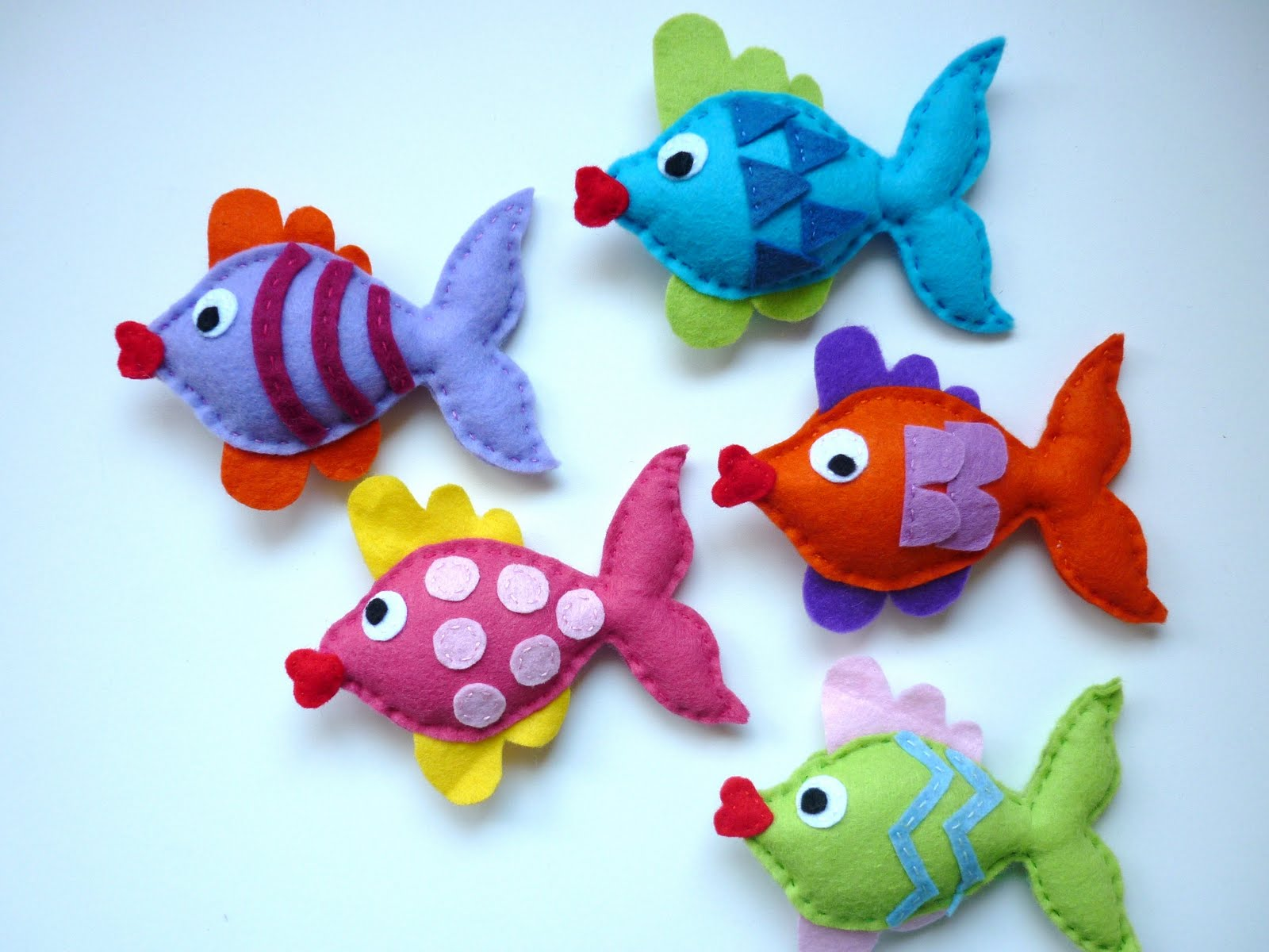 Towel Clips For Beach Chairs The Colorful White: Colorful Fish Craft