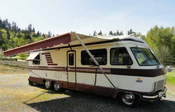used rvs 1990 elite 30ft class a motorhome for sale by owner. Black Bedroom Furniture Sets. Home Design Ideas