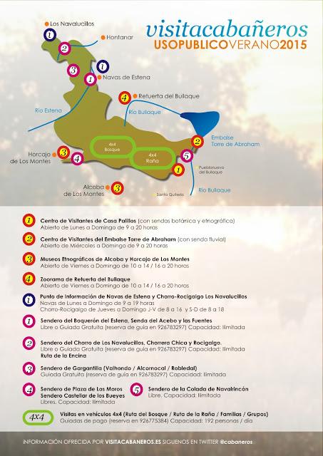http://www.visitacabaneros.es/VERANO2015CABAÑEROS.pdf