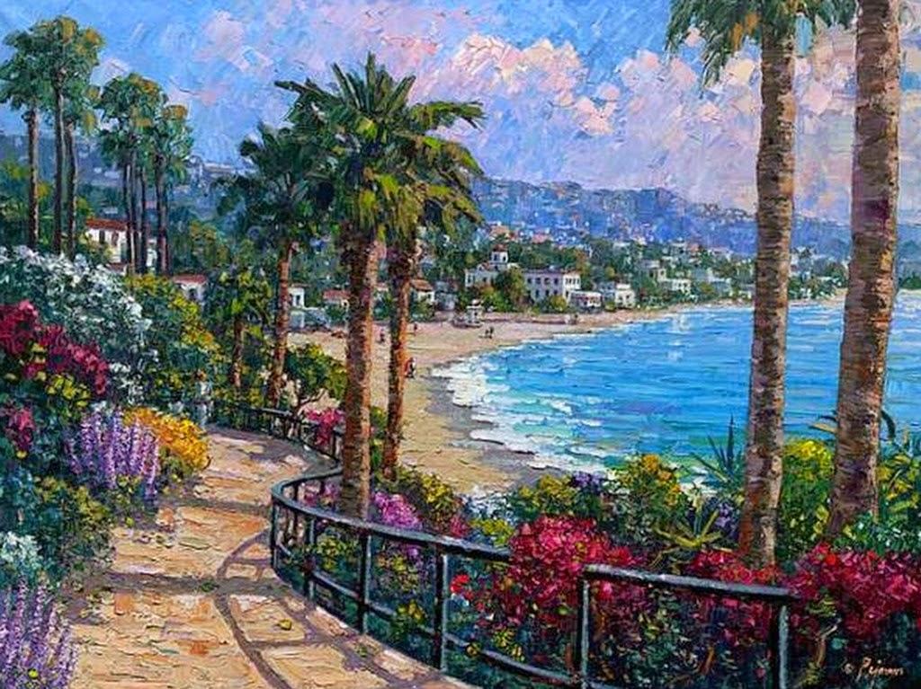 pinturas-tropicales-con-flores