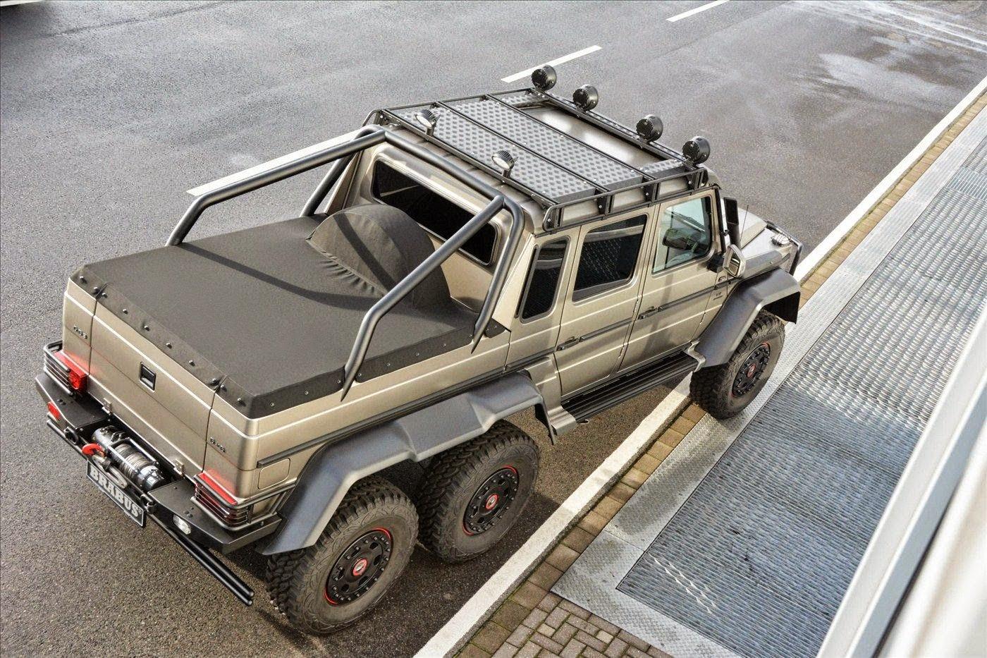 mercedes 6x6 pickup