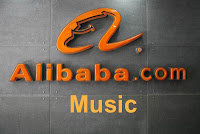 Alibaba Music sign image