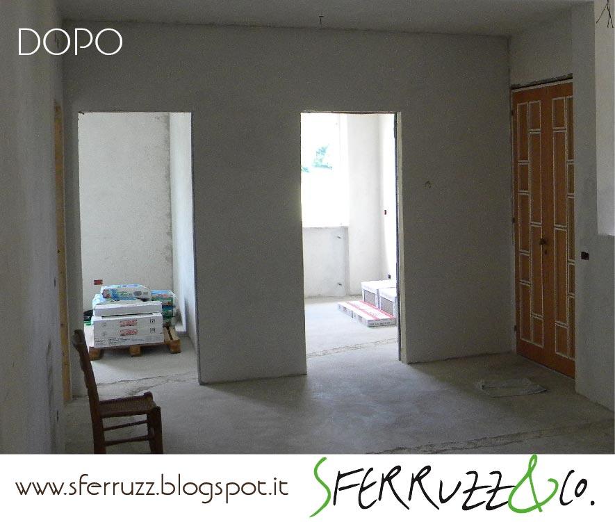 Sferruzz&co: t.g.house/zona giorno/un passo alla volta