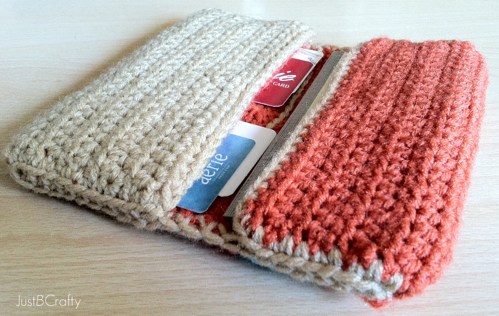 Crochet Wallet Tutorial Just B Crafty