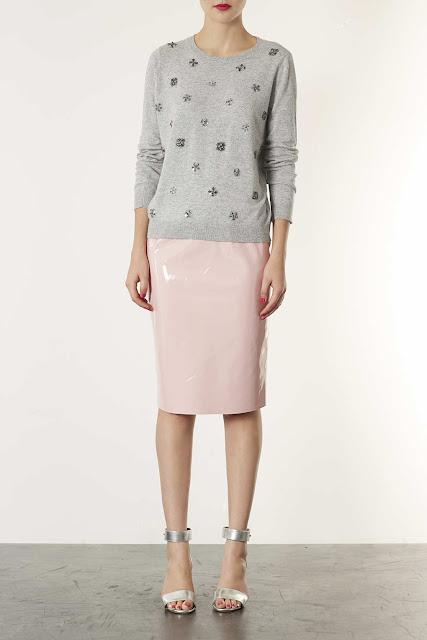 knitted embellished jumper