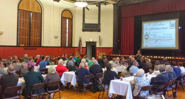 Thank You-Tri Town Democrats Honors Dinner A Great Success This Weekend