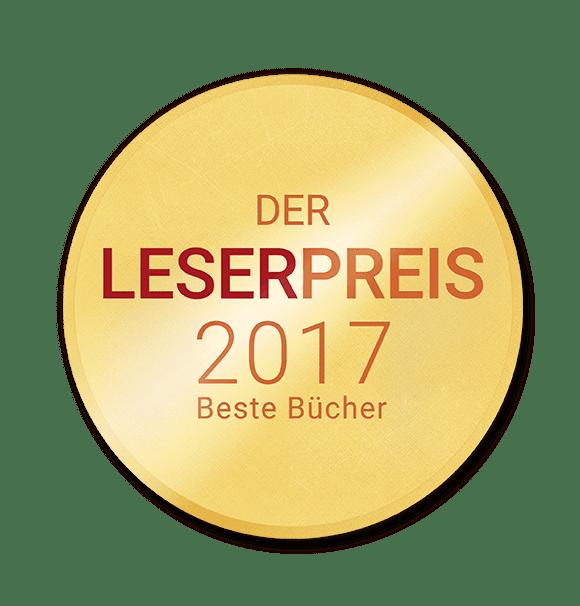 Lovelybooks Leserpreis 2017