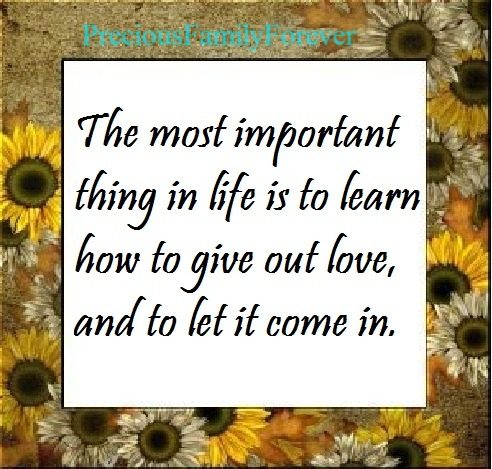 precious things in life The most precious things in life quotes - 1 the most important things in life aren't things read more quotes and sayings about the most precious things in life.