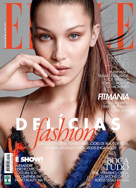 Fashion Model, @ Bella Hadid - Elle magazine Brazil, Febbraio 2016