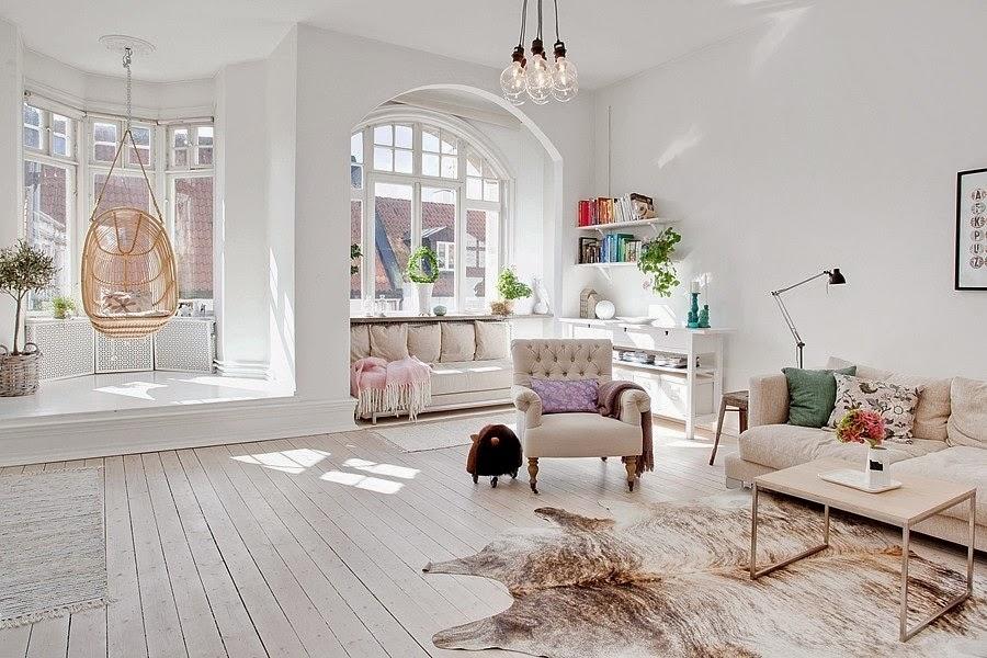 wystrój wnętrz, wnętrza, urządzanie mieszkania, dom, home decor, dekoracje, aranżacje, białe wnętrza, styl skandynawski, salon
