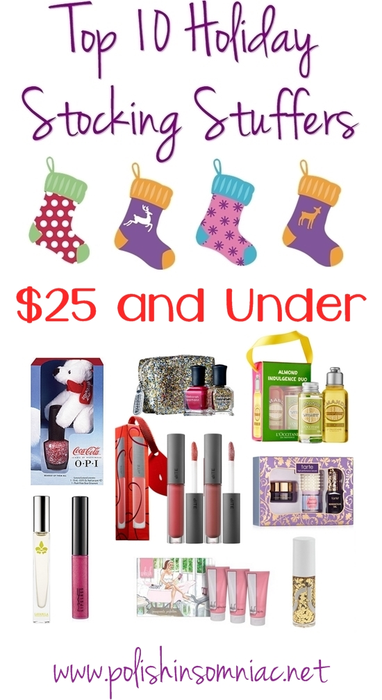 Top 10 Holiday Stocking Stuffers – $25.00 and Under!
