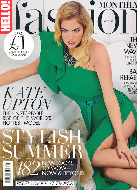 Actress, Model @ Kate Upton – Hello Fashion, August 2015