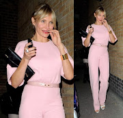 . cohosted by Gwyneth Paltrow. Cameron looked lovely in a powder pink .