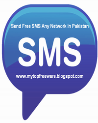 Send Free SMS Any Network In Pakistan