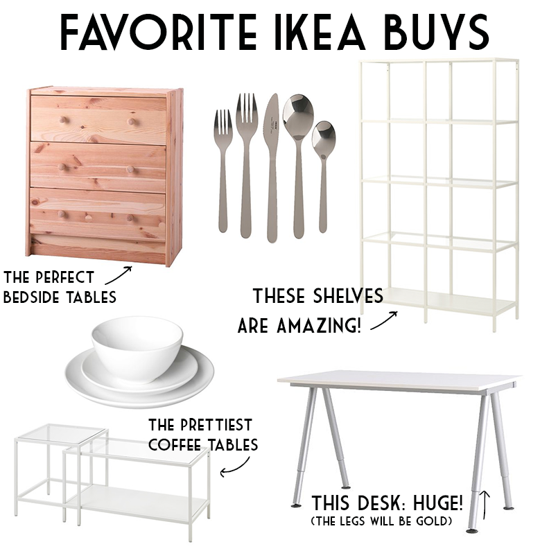 They are good quality  durable pieces of furniture and home goods that  didn t break the bank   Can I get an Amen. Favorite Buys At Ikea   Tay Meets World