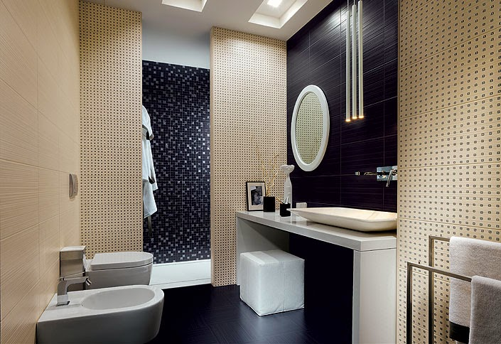 Bathroom Partitions Paint bathroom partitions: 7 original ideas and choosing tips