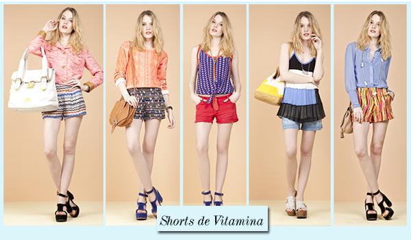 Los shorts de  Vitamina Verano 2013