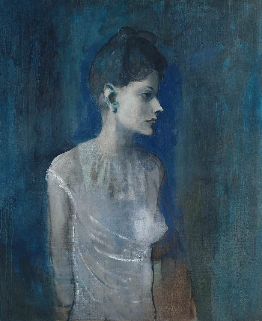 Picasso Blue Period Paintings Images