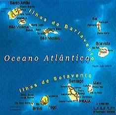 Arquipélago de Cabo Verde - Barlavento e Sotavento