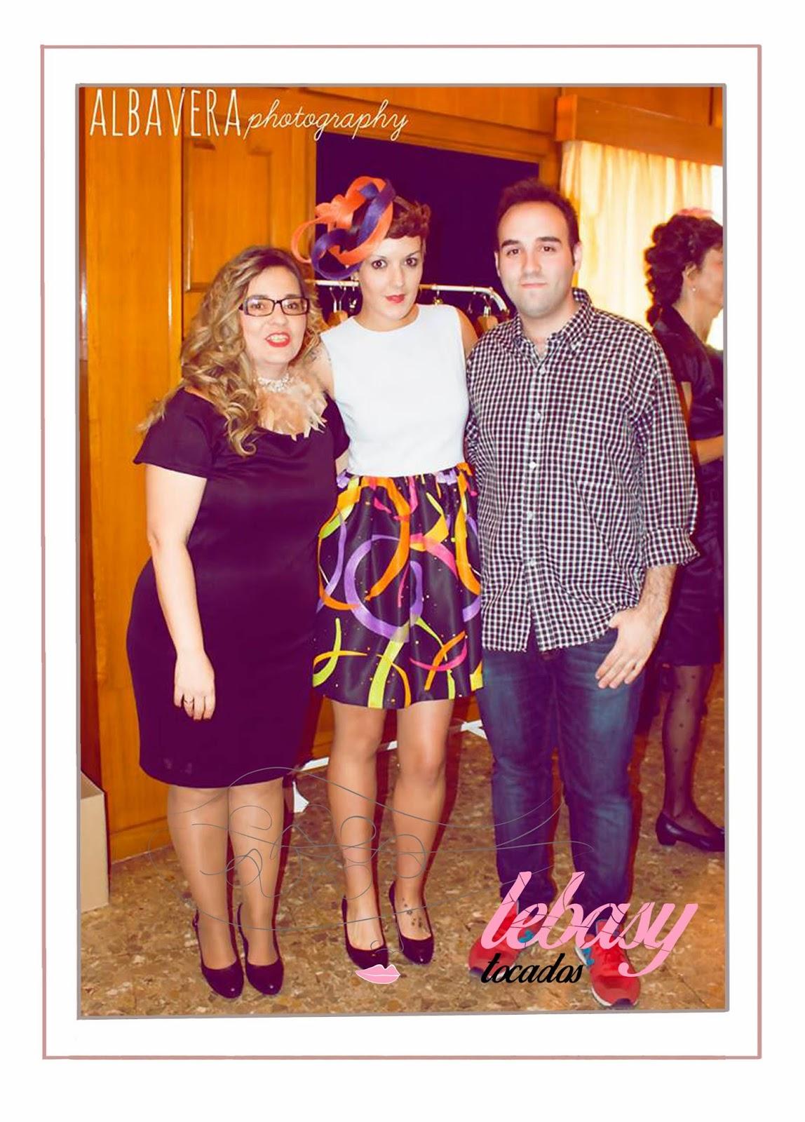 Lebasy Tocados con Alba Vera y Manuel Herreros